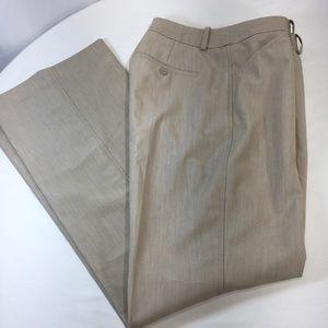 Worthington Dress Pants 8 TALL Beige Trouser